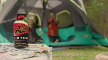 5-Hour Energy Extra Strength TV Spot, 'Getting Stuff Done: Camping' - Thumbnail 4