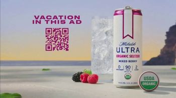 Michelob ULTRA Organic Seltzer TV Spot, 'Vacation in This Ad'