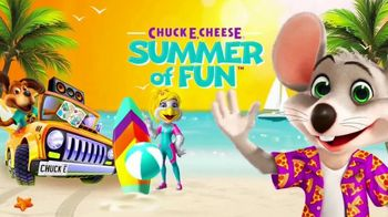 Chuck E. Cheese's TV Spot, 'It's Time for the Summer of Fun' - Thumbnail 8