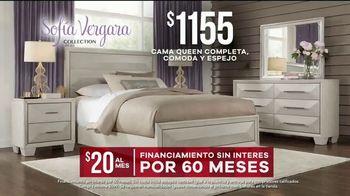 Rooms to Go Venta de Memorial Day TV Spot, 'Colección de Sofía Vergara: cama' [Spanish] - Thumbnail 4