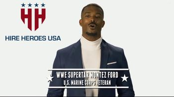 Hire Heroes USA TV Spot, 'WWE: Empower Veterans' Featuring Montez Ford