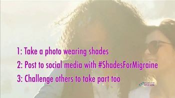 Shades for Migraine TV Spot, 'Show You Care' - Thumbnail 10