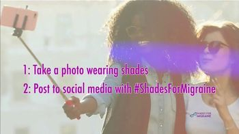 Shades for Migraine TV Spot, 'Show You Care' - Thumbnail 9