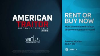 DIRECTV Cinema TV Spot, 'American Traitor: The Trial of Axis Sally' - Thumbnail 10