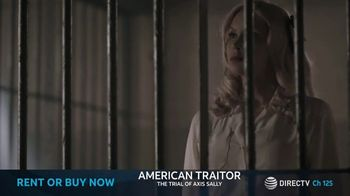 DIRECTV Cinema TV Spot, 'American Traitor: The Trial of Axis Sally' - Thumbnail 2
