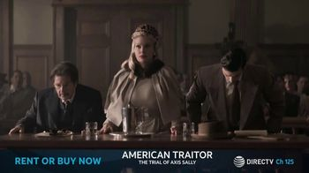 DIRECTV Cinema TV Spot, 'American Traitor: The Trial of Axis Sally' - Thumbnail 3