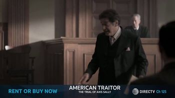 DIRECTV Cinema TV Spot, 'American Traitor: The Trial of Axis Sally' - Thumbnail 4