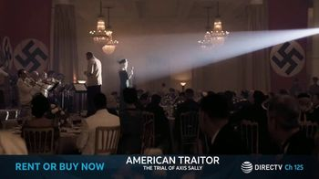 DIRECTV Cinema TV Spot, 'American Traitor: The Trial of Axis Sally' - Thumbnail 8