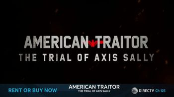 DIRECTV Cinema TV Spot, 'American Traitor: The Trial of Axis Sally' - Thumbnail 9