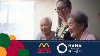 Asian McDonald's Operator Association TV Spot, 'Asian Pacific Heritage Month: Hana Center' - Thumbnail 6
