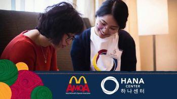 Asian McDonald's Operator Association TV Spot, 'Asian Pacific Heritage Month: Hana Center' - Thumbnail 3