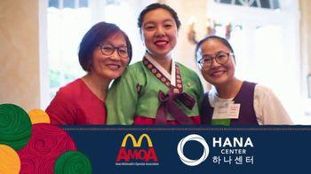 Asian McDonald's Operator Association TV Spot, 'Asian Pacific Heritage Month: Hana Center' - Thumbnail 5