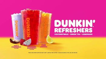 Dunkin' Refreshers TV Spot, 'Get Your Glow Back: Vitamins and Energy'