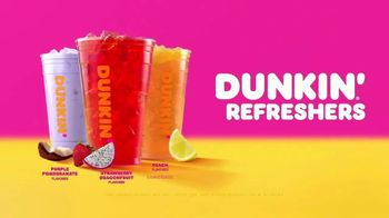 Dunkin' Refreshers TV Spot, 'Get Your Glow Back: Vitamins and Energy' - Thumbnail 7
