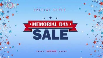 Tennis Express Memorial Day Sale TV Spot, 'Savings Start Now: Extra 20% Off' - Thumbnail 1