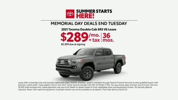 Toyota Summer Starts Here TV Spot, 'Memorial Day: Sports' [T2] - Thumbnail 4