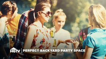 Belgard TV Spot, 'HGTV: Backyard Party Space'