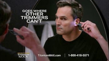 MicroTouch Titanium Max TV Spot, 'Grooming Routine'