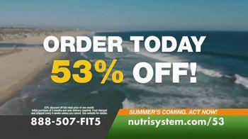 Nutrisystem for Men TV Spot, 'Lose 30 Pounds for Summer: 53% Off' - Thumbnail 8