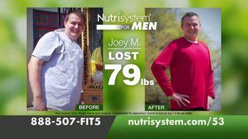 Nutrisystem for Men TV Spot, 'Lose 30 Pounds for Summer: 53% Off' - Thumbnail 3