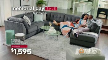 Ashley HomeStore Memorial Day Sale TV Spot, 'Doorbusters: 50% Off: Final Four Days' - Thumbnail 2