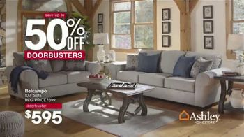 Ashley HomeStore Memorial Day Sale TV Spot, 'Doorbusters: 50% Off: Final Four Days' - Thumbnail 3
