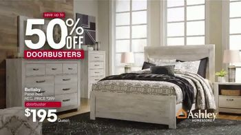 Ashley HomeStore Memorial Day Sale TV Spot, 'Doorbusters: 50% Off: Final Four Days' - Thumbnail 4