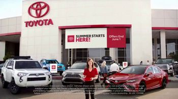 Toyota Summer Starts Here TV Spot, 'Memorial Day: Flying Disc' [T2] - Thumbnail 1
