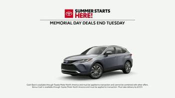 Toyota Summer Starts Here TV Spot, 'Memorial Day: Flying Disc' [T2] - Thumbnail 6