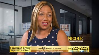 Lerner and Rowe Injury Attorneys TV Spot, 'Nicole' - Thumbnail 5
