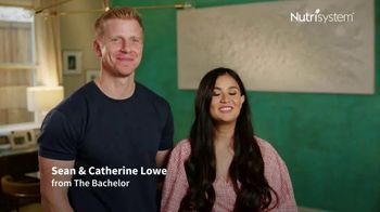 Nutrisystem Partner Plan TV Spot, 'Twice the Motivation' Sean Lowe, Catherine Lowe - Thumbnail 1