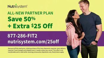 Nutrisystem Partner Plan TV Spot, 'Twice the Motivation' Sean Lowe, Catherine Lowe - Thumbnail 9