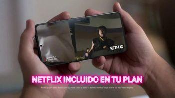 T-Mobile TV Spot, 'Netflix on Us: Drama' con LeJuan James  [Spanish] - Thumbnail 5