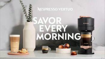 Nespresso Vertuo TV Spot, 'Savor Every Morning'