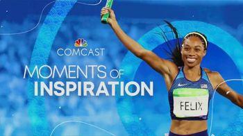 Comcast Corporation TV Spot, 'Moments of Inspiration' Featuring Simone Manuel - Thumbnail 2