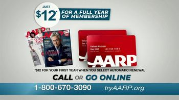 AARP Services, Inc. TV Spot, 'Benefits Start Instantly: Now You Know' - Thumbnail 6