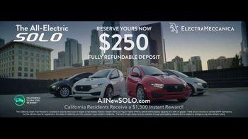 ElectraMeccanica Solo TV Spot, 'Enormous Impact' [T2] - Thumbnail 9