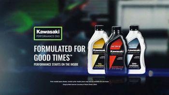 Kawasaki Performance Oils TV Spot, 'Formulated for Good Times' Song by Matt Koerner - Thumbnail 10