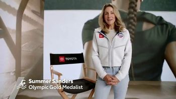 Toyota TV Spot, 'What Drives You: Simone Manuel' Ft. Summer Sanders, Song by Meli Malavasi [T2]