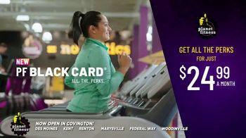 Planet Fitness Black Card TV Spot, 'All the Perks: PF+: $24.99'