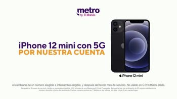 Metro by T-Mobile TV Spot, 'Dile hola a 5G: iPhone 12 mini gratis' [Spanish]