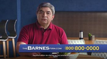 The Barnes Firm TV Spot, 'Accidente de camioneta' [Spanish]