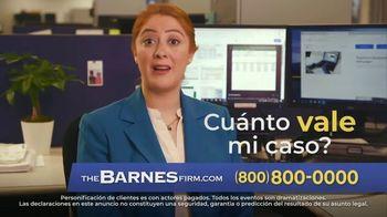 The Barnes Firm TV Spot, 'Accidente de auto' [Spanish]