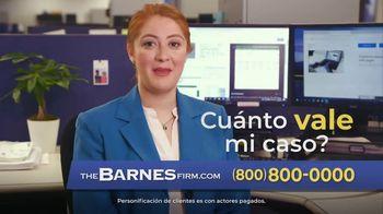 The Barnes Firm TV Spot, 'La mejor compensación' [Spanish]