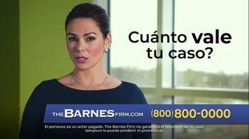 The Barnes Firm TV Spot, 'El valor del caso' [Spanish] - Thumbnail 4