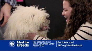 AKC Meet the Breeds TV Spot, 'August 2021: Kay Bailey Hutchinson Dallas Convention Center' - Thumbnail 2