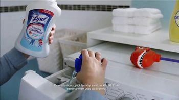 Lysol Laundry Sanitizer TV Spot, 'Untouchable Stink Protection' - Thumbnail 8