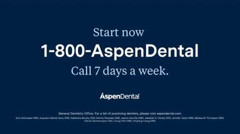 Aspen Dental TV Spot, 'Today Is the Day: 50% Off Basic Replacement Dentures' - Thumbnail 9