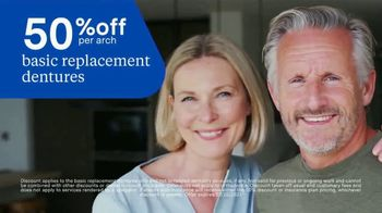 Aspen Dental TV Spot, 'Today Is the Day: 50% Off Basic Replacement Dentures' - Thumbnail 8