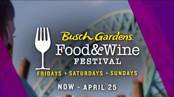 Busch Gardens TV Spot, '2021 Food & Wine Festival: Save On Annual Passes' - Thumbnail 4